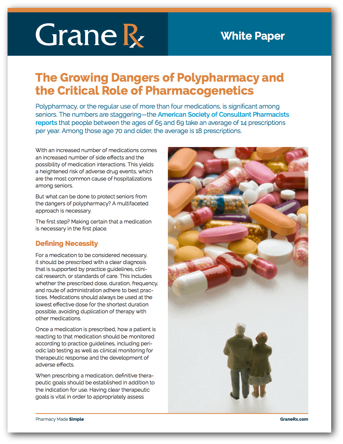 The Growing Danger of Polypharmacy and the Critical Role of Pharmacogenetics