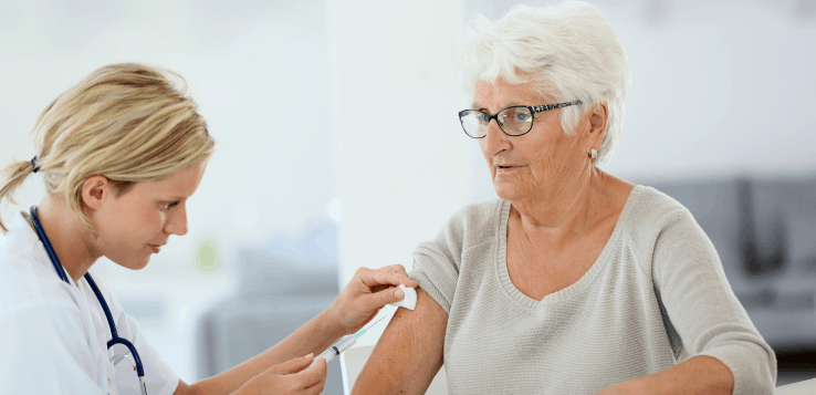 The high-dose flu vaccine has been proven effective in seniors, including the PACE population.